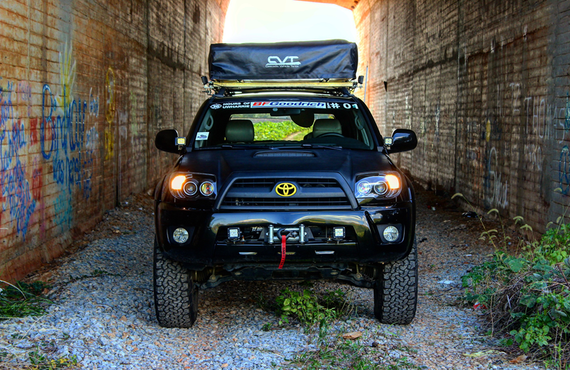 """Best Overland Vehicles >> Patrick's 2007 4Runner Sport Edition: """"The Black Pearl"""" - Peach State Overland ..."""